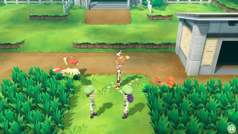 Pokemon: Let's Go  looks great and I can actually see where I'm supposed to go in a Gen I game.