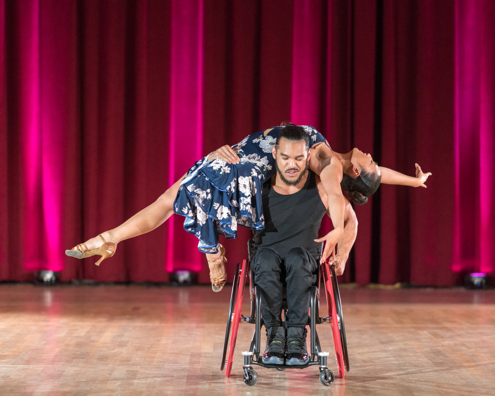 Marisa Hamamoto & Adelfo Cerame Jr. Photo by Michael Hansel.