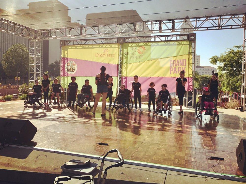 Rehearsing Infinite Flow Kids