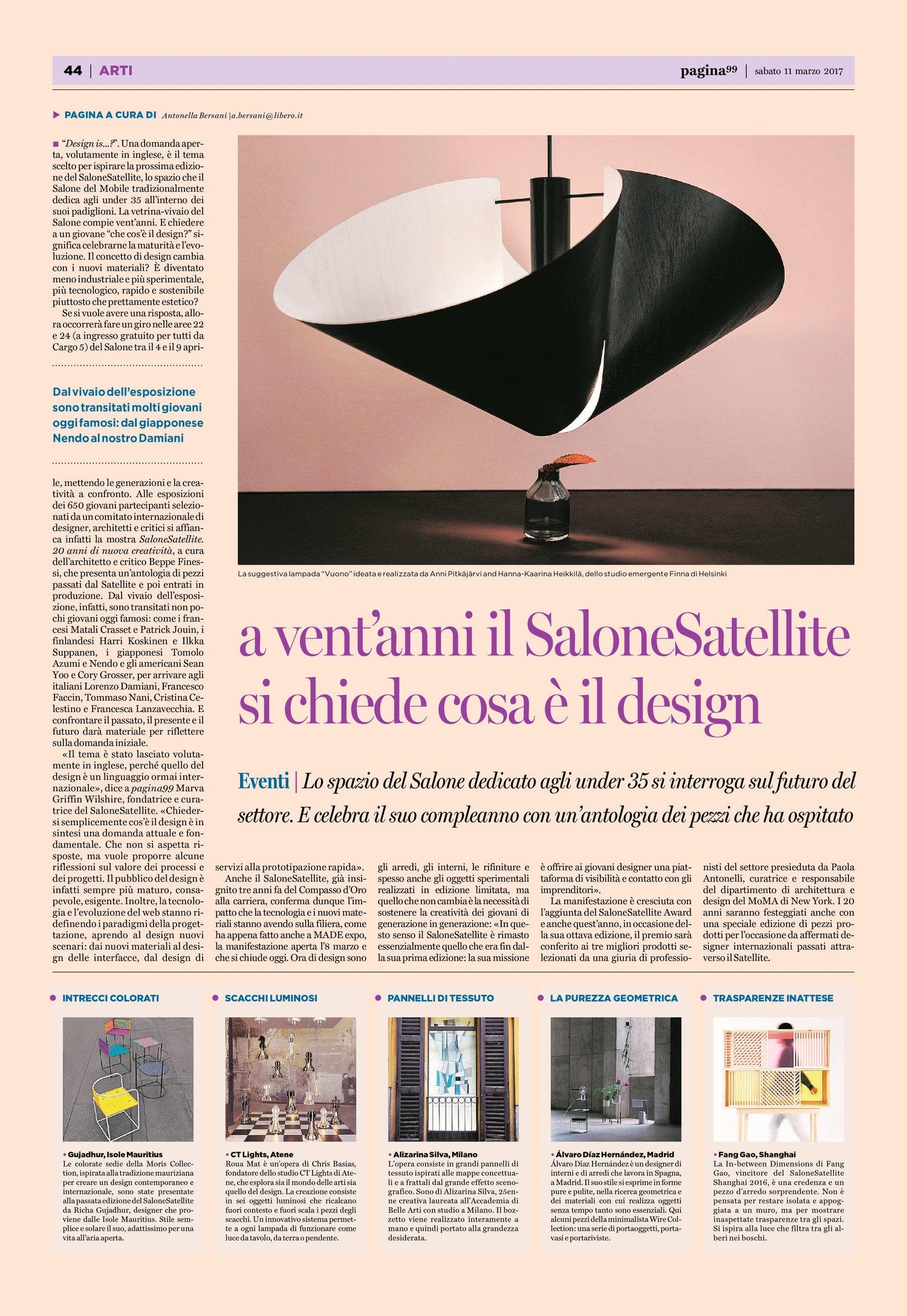 Lampada Da Studio Design pagina 99 - salone satellite — studio finna