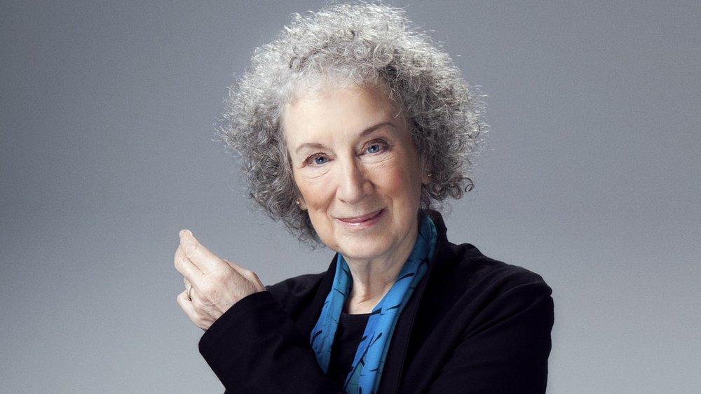 Canadian author Margaret Atwood