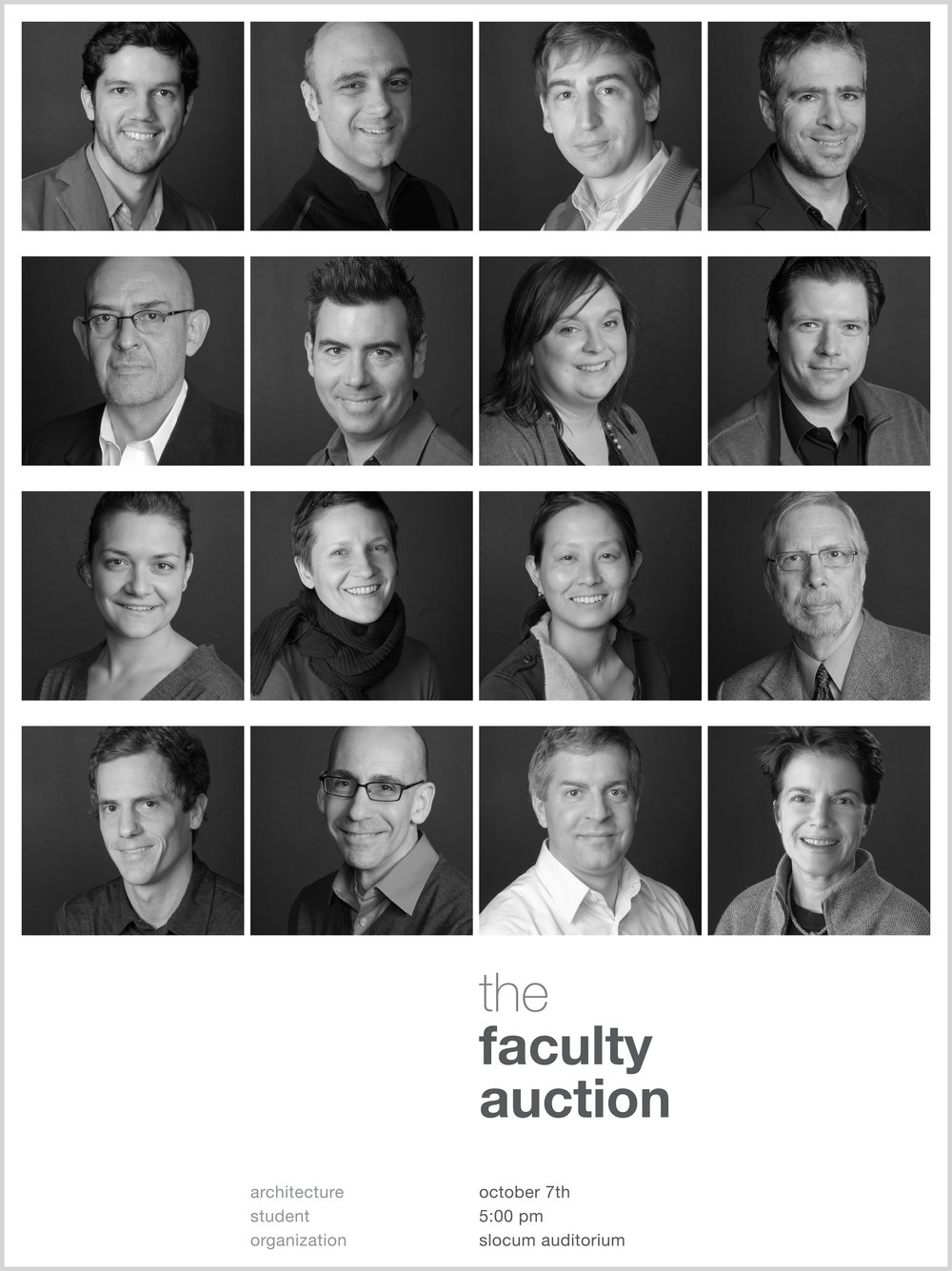 The Faculty Aution