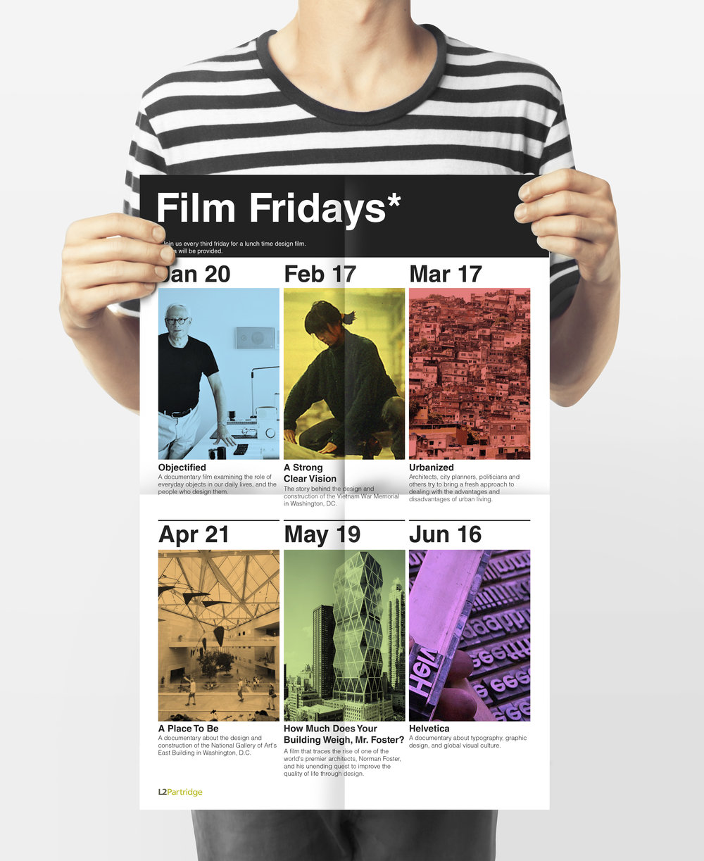 Film Fridays* Poster Series