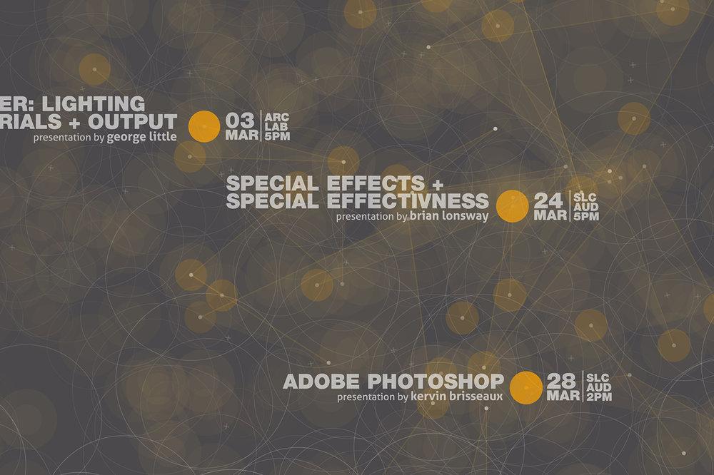 Digital Workshops + Lectures
