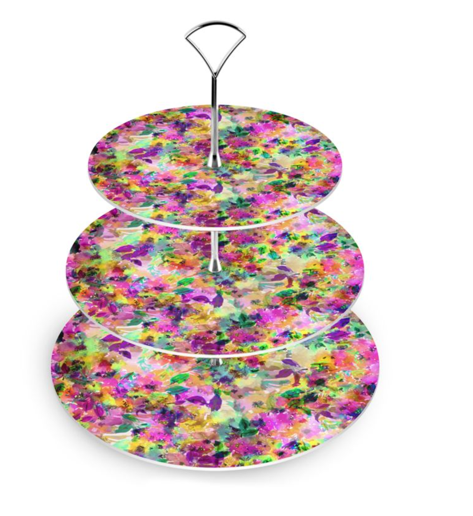 Belle Cake Stand by Gabriela Fuente