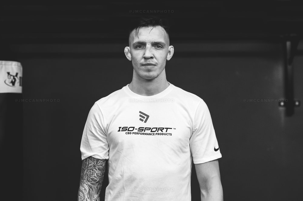 Rhys welcomes ISO-Sport onboard as a sponsor ahead of his Cage Warriors debut.