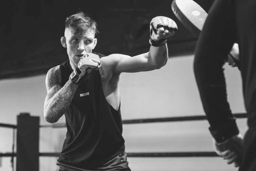 Eyes on the prize ahead of Cage Warriors 100.