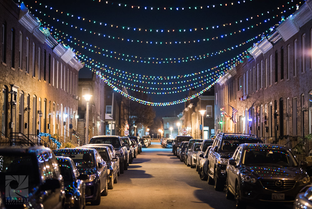 Alley Lights - Winning of  Explore Baltimore' s 2017  Heritage Area Contest . Best of Fells Point/Canton.