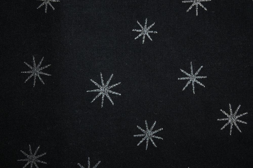 """45"""" 68x68, 100% Cotton   SPW 194, 48817, Silver Black"""