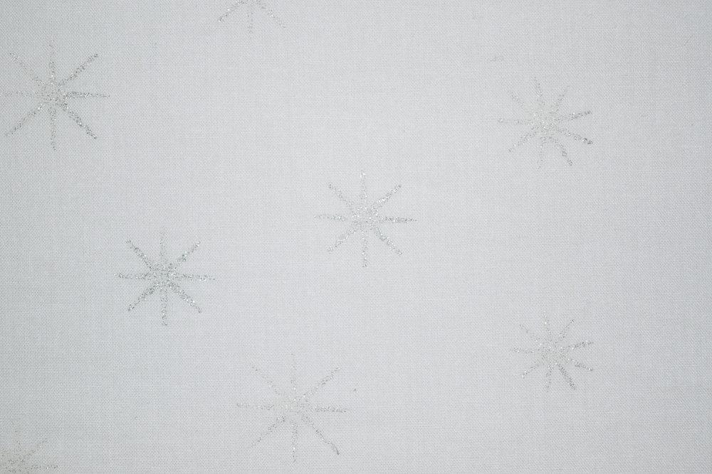 "45"" 68x68, 100% Cotton   SPW 194, 48817, Silver White"