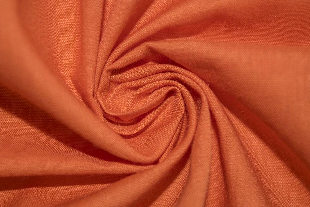 "45"" 110x76, Poly/Cotton  sym_orange62186"