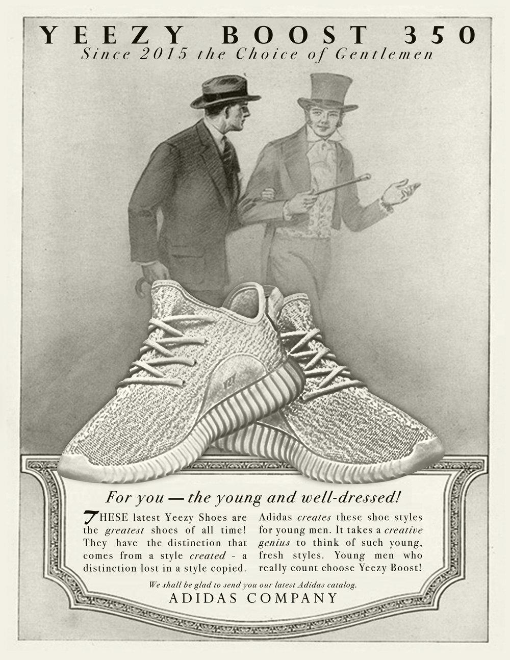 1920s STYLE YEEZY AD