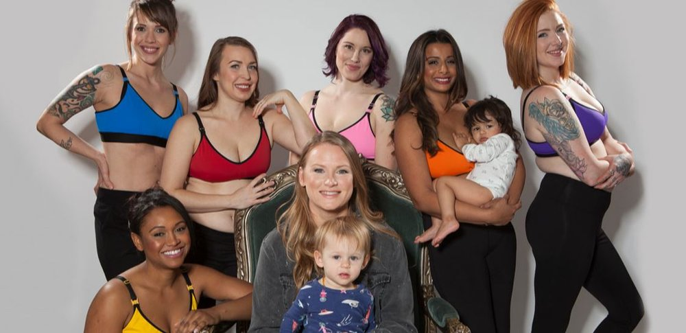 Behr Bras makes stylish nursing bras for 'cool' moms.