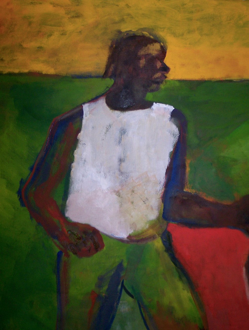 Three Men - Detail 1