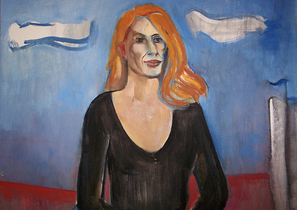 Portrait of the Artist, Corliss Block - Detail 1