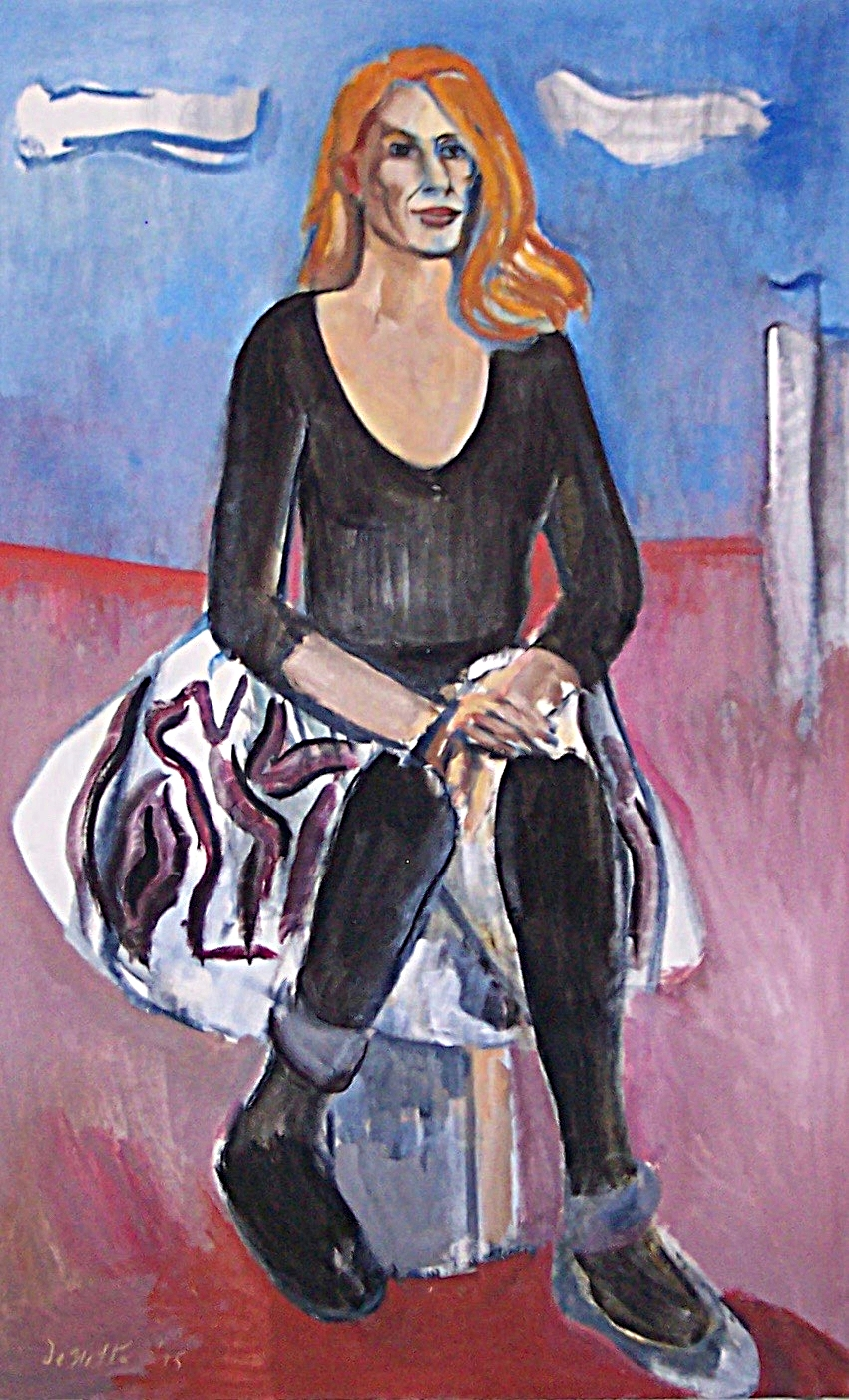 Portrait of the Artist, Corliss Block