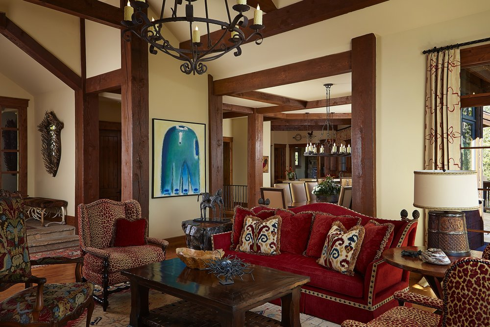 Colorado Living Room – Award Winning