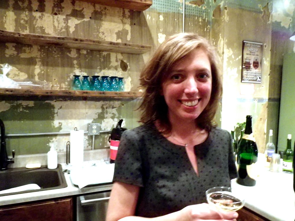 Gretchen at the grand opening of Cultivate Coworking, Murfreesboro, TN, 2015