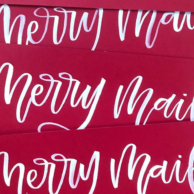 Bring on all the merry mail! Christmas cards are seriously one of my favorite things about this time of year!