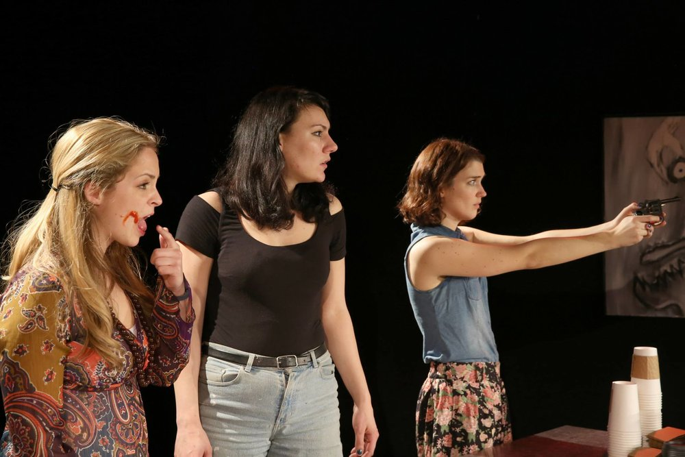 Ft. Original cast members (from left to right) Wendy McMullen, Gabrielle Seredowych, and Jill Sargaent