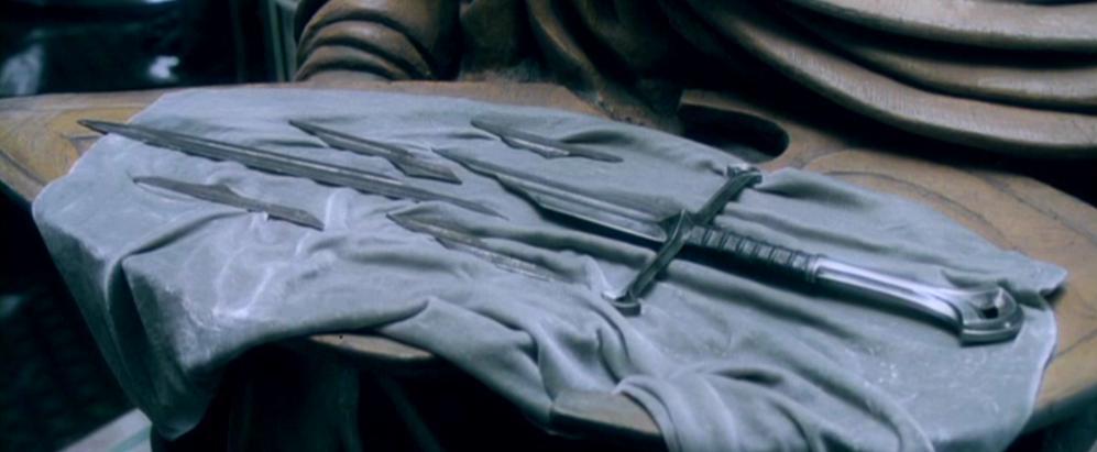 The shards of Narsil at Rivendell