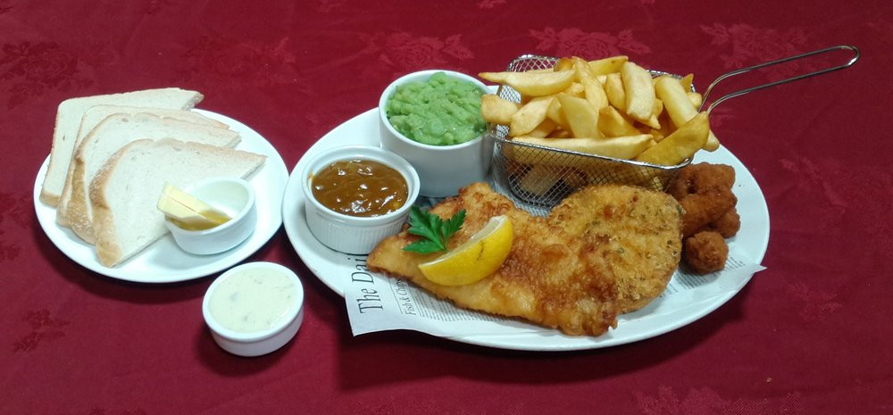 Fish and Chip platter