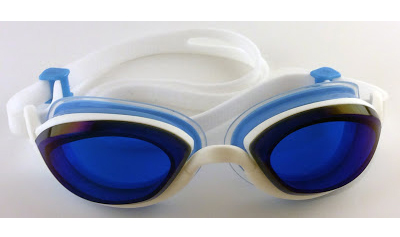 Blue & white with blue lens - • good for outdoor