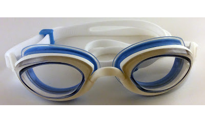 blue & White WITH CLEAR LENS - • good for indoor