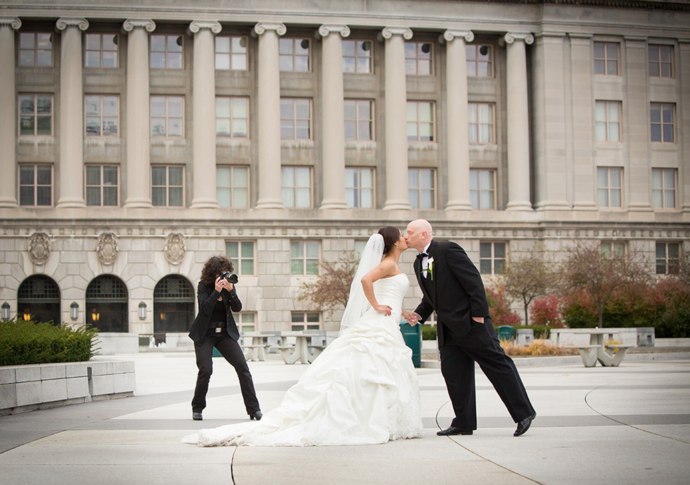 wedding photo Harrisburg Capital
