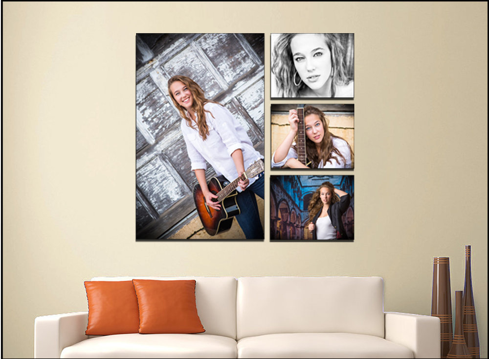Custom Canvas Collage