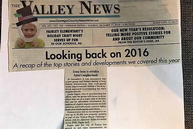 The Valley News Article