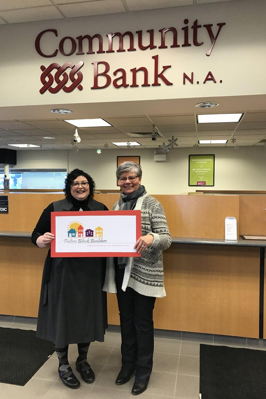 Community Bank Sponsor