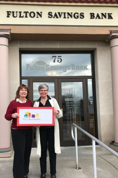 Pictured in this photo is Nancy Ellis VP Marketing & Human Resources and Linda Eagan