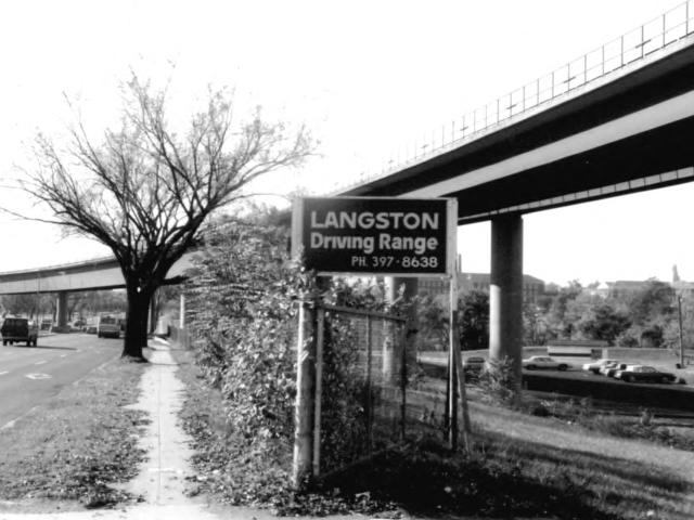 Langston Golf Course, 2600 Benning Rd NE. n.d. Photographer unknown. Courtesy National Register of Historic Places. Retrieved from Wikipedia, 20 August 2018.
