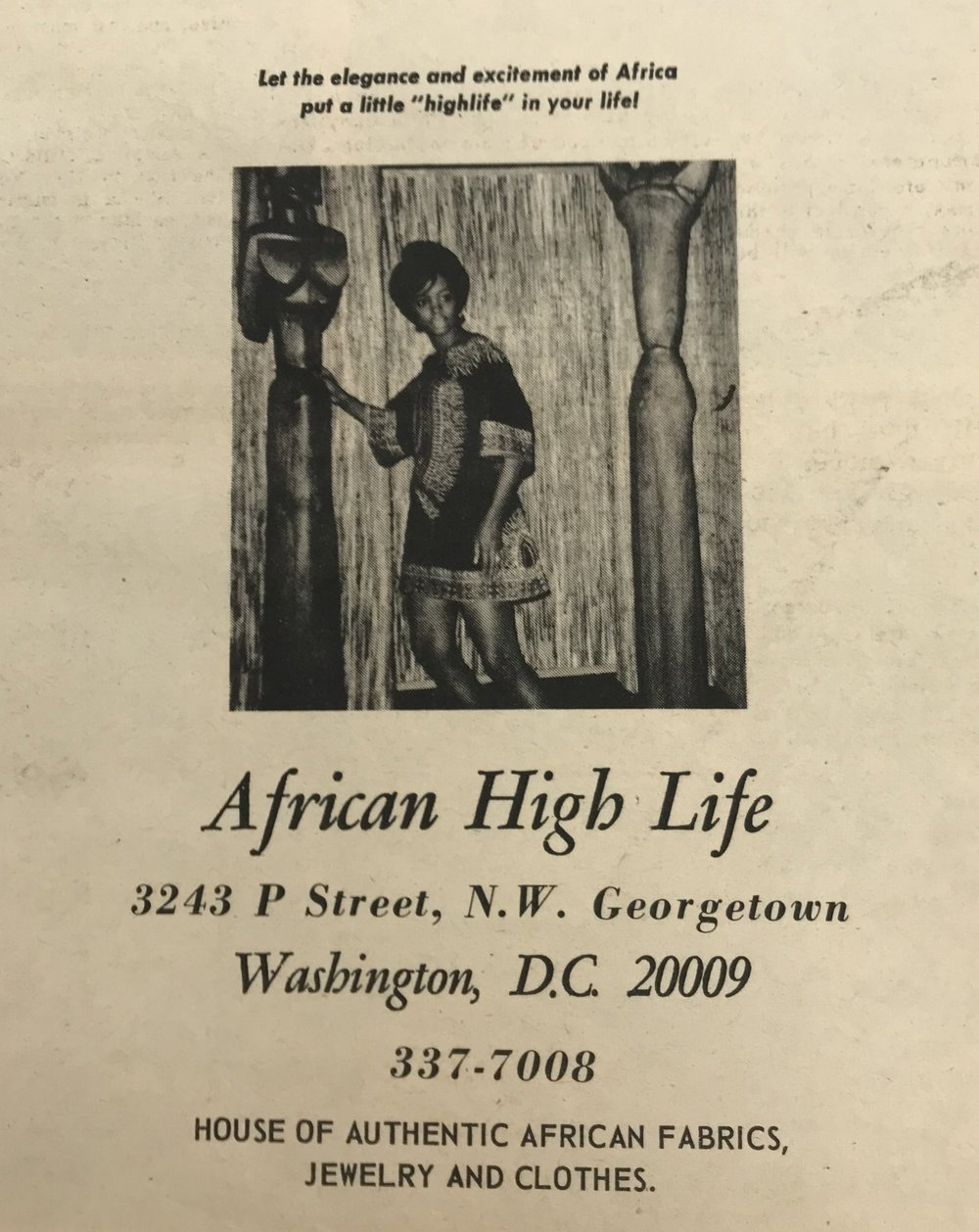 11 September 1968 African High Life Store Dc1968 Project 365