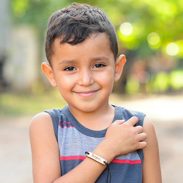 MudLove, Get Hope. Give Hope   These popular hope bracelets, created by our friends at MudLove, provide one day of work for someone in Honduras. It's the perfect gift to give someone hope.