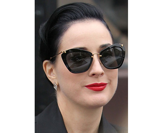 Burlesque queen Dita Von Teese in these remixed classic shades