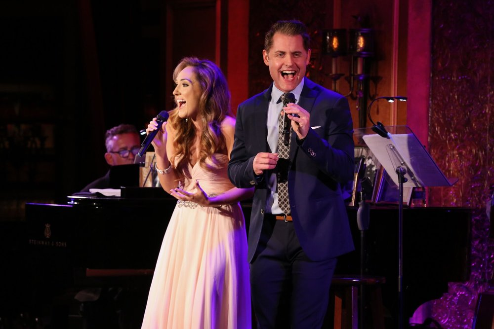 Michael and Tiffany Haas in  Cheek to Cheek: A Broadway Romance  at 54 Below