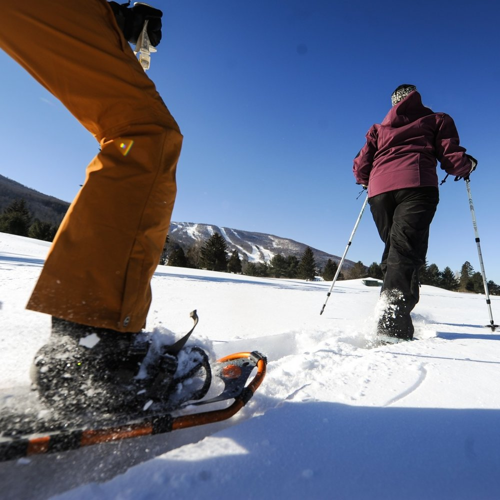 WINTER SPORTS Cross-country skiing, snowshoeing, sledding, snowmobiling, and more.