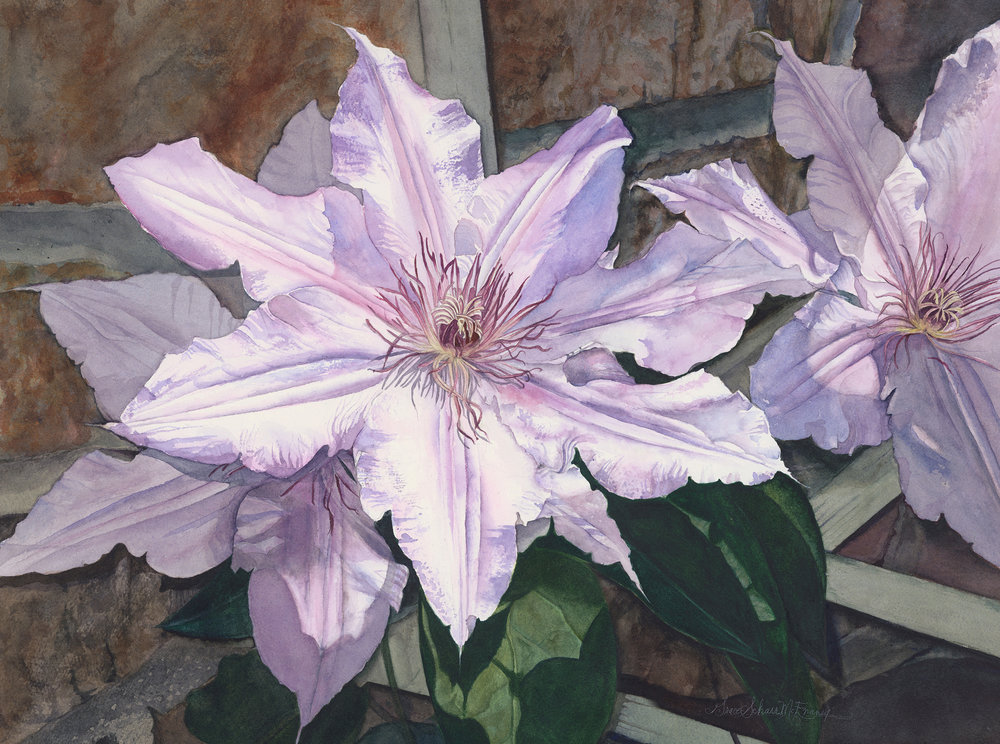 """""""Clematis"""" SOLD"""
