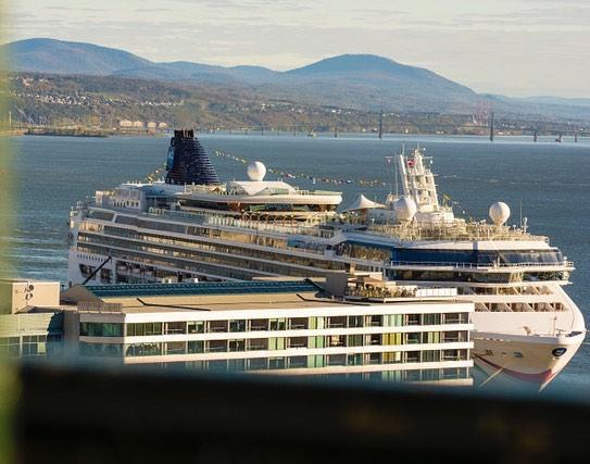 Le port de Québec #port #lesloftsstpaul #villedequebec #villedequebec #portdequebec