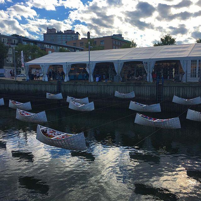 Vieux-Port où se déroule l'évènement Plein Art, le Salon des métiers d'art de Québec #vieuxportquebec #pleinart #pleinartquebec #evenementquebec
