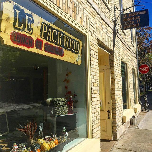On a remarqué un nouveau dans le quartier! On a hâte d'aller y manger ! #lepackwood