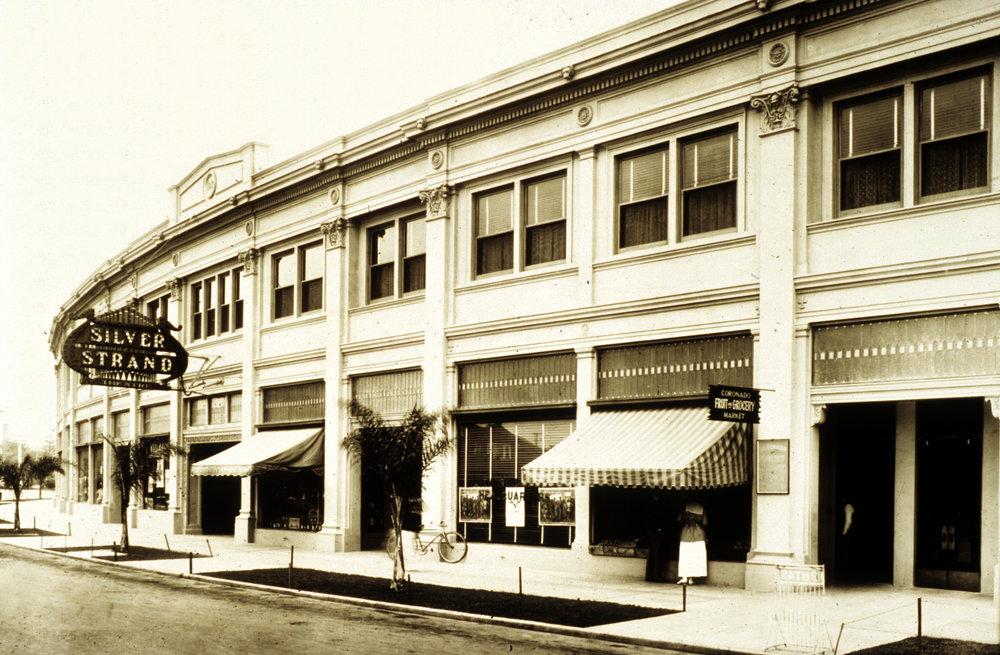 Silver Strand Theatre opens in 1917