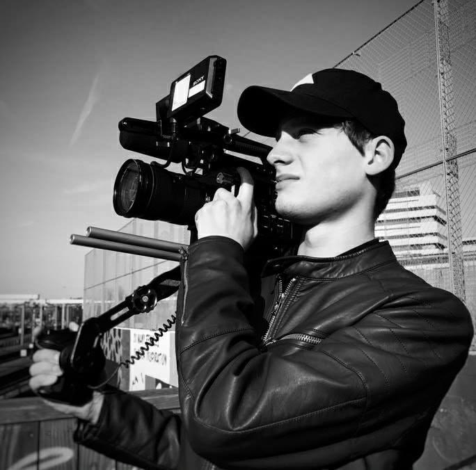 Ronnie den Heijer   BTS Cameraman-Focus puller