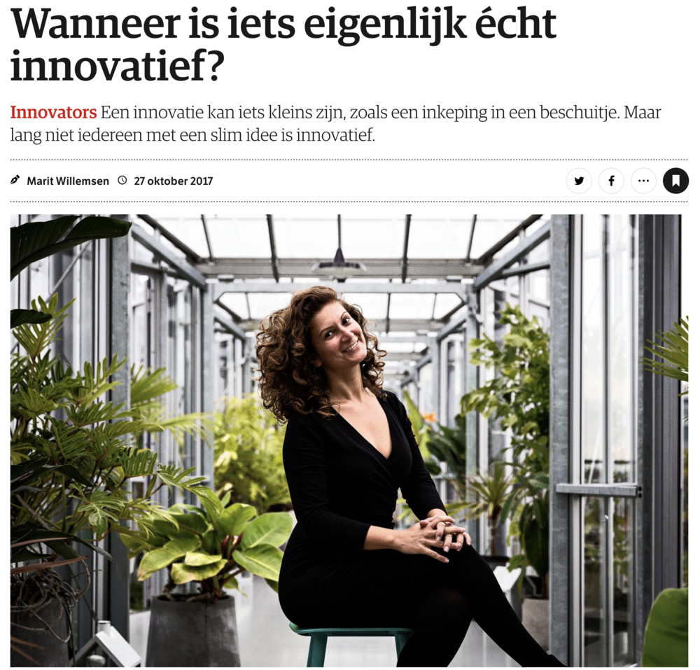 "Grateful to be featured in the newspaper NRC (""New York Times of the Netherlands"") as a Leader with a Vision, an Innovator 🙏  #leader   #vision  #innovator   #media   #newspaper   #nrc   #next   #tobecontinued    https://www.nrc.nl/nieuws/2017/10/27/leiders-met-een-visie-13707460-a1578993"