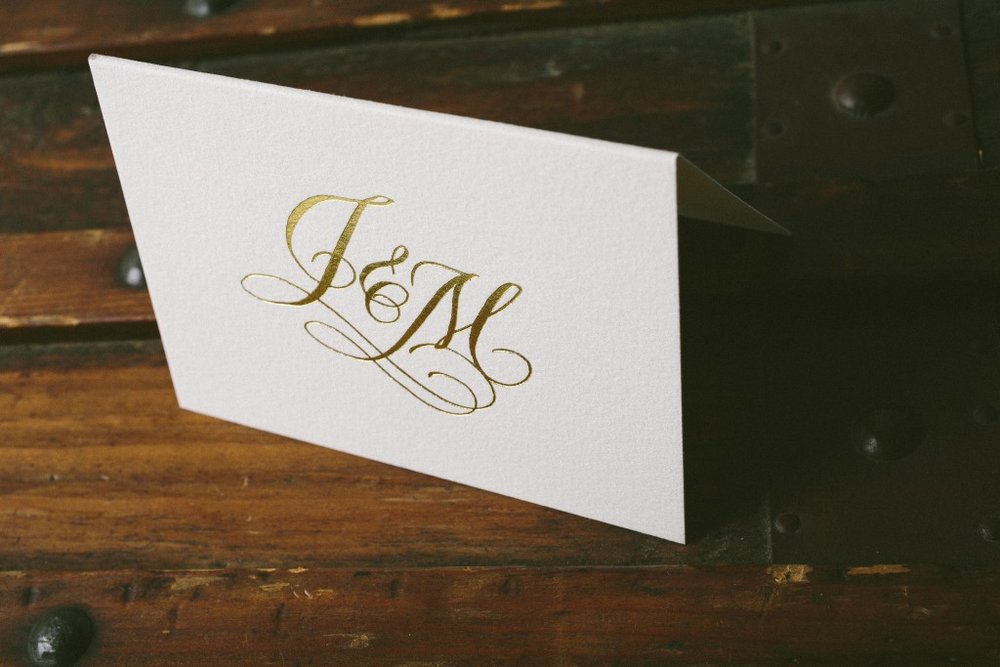 WEDDING WEDNESDAY // Monograms and Duograms — If It\'s Paper