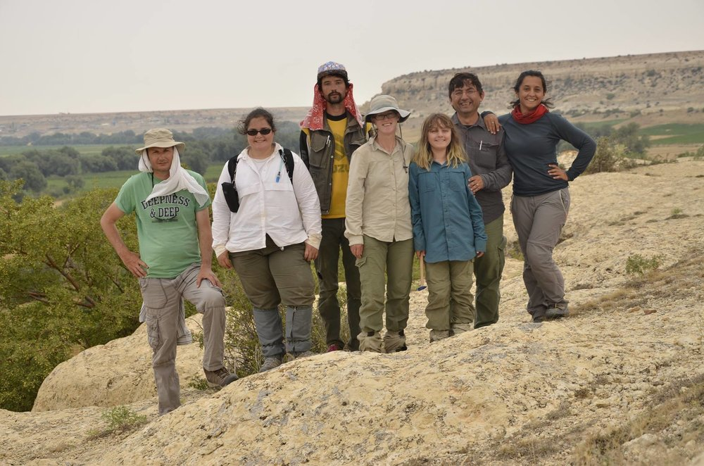 Yalburt Team finishing up field season at Gelinugru site in the Bulasan valley.