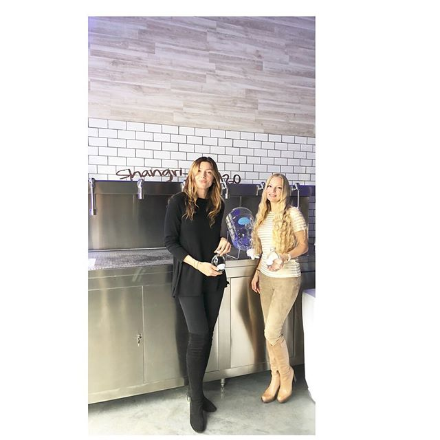 Congratulations to my dear friends on their Grand Opening of Shangri-La H2O Revolutionized Water 💦 #vortexwater #health #dinamarciano #mineral