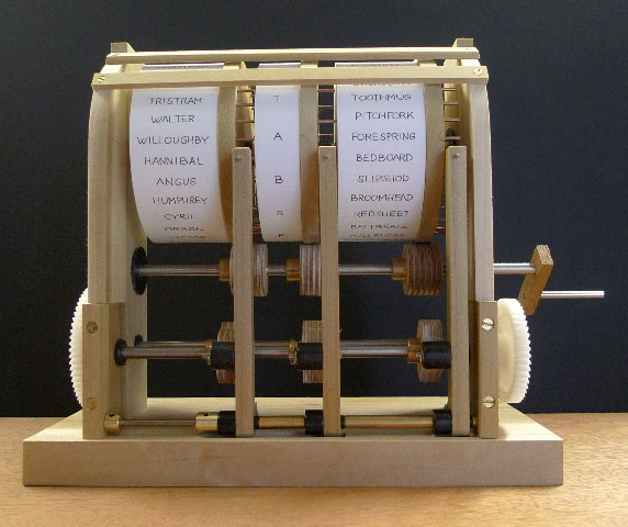 Paul Spooner's excellent automata machine